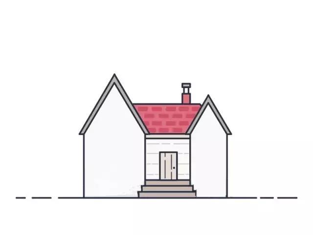 儿童简笔画:详细的小房子画法步骤,画出孩子们眼中的世界