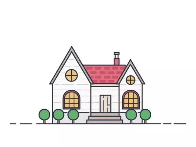 步骤简孩子:详细的小别墅儿童房子,画出笔画们门欧式画法外图片