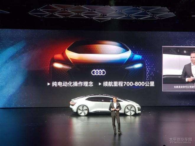 奥迪发布Aicon概念轿车 将搭载5级自动驾驶