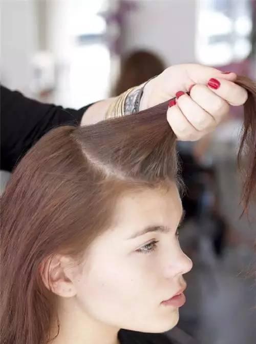 编发|半披发教程,伴娘发型必备!图片
