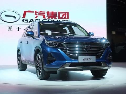 广汽传祺GS5巴黎车展首发,颜值不输传祺GS8,搭1.5T+爱信6AT