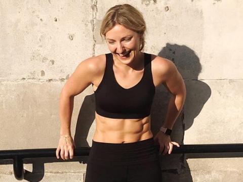 从健身编辑成功转型健身教练,练出健美身材还创办跑步俱乐部