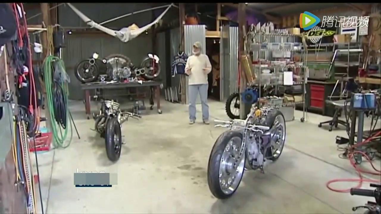 牛人纯手工打造氮气摩托车 启动之后无人敢靠近