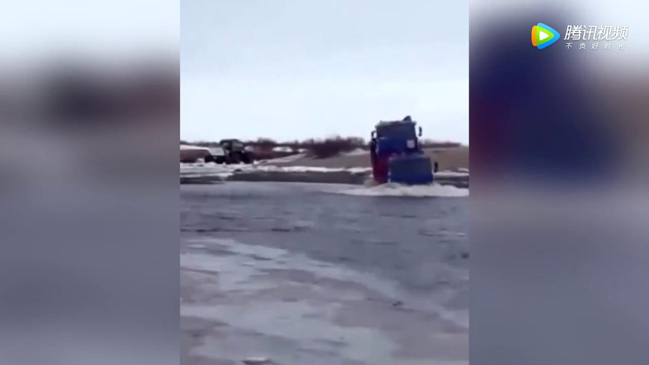 大神收徒弟不?货车司机用实力告诉你什么叫驾驶技巧!