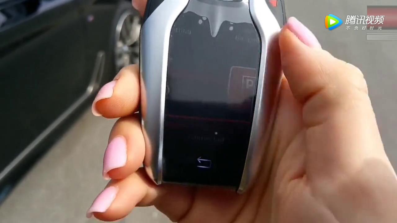 女销售按下宝马的智能钥匙,那一刻才知道什么叫高科技