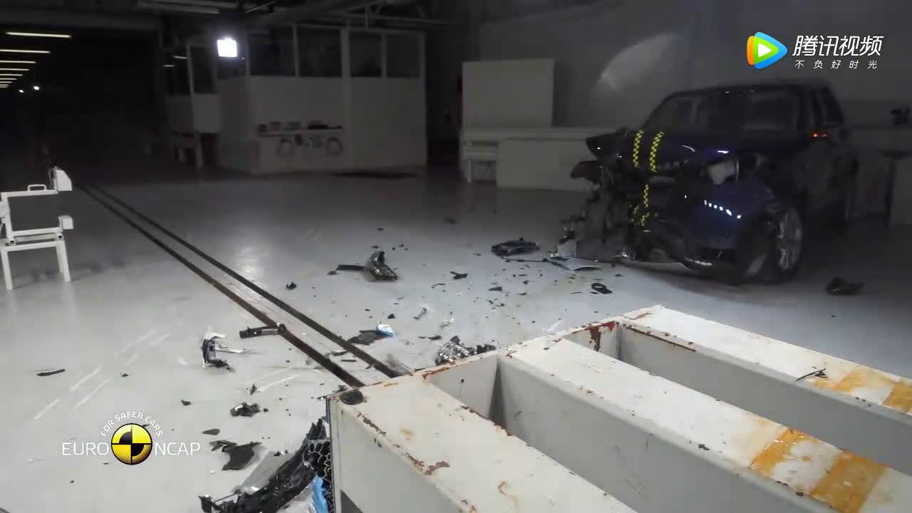 欧洲NCAP路虎发现碰撞测试  ?
