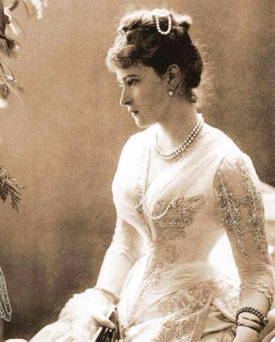 百年前的欧洲美女, 罕见老照片, 最后一张美得让人看呆