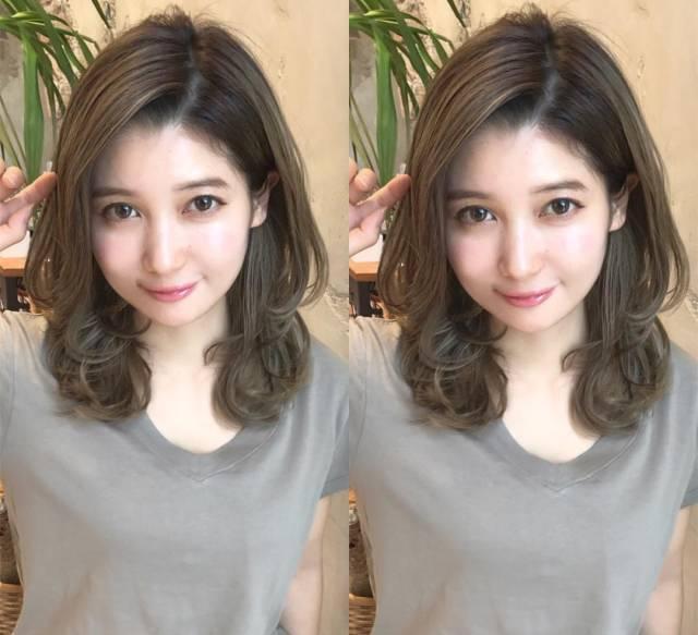 女生中长发这样设计才好看, 直发清纯活泼, 卷发甜美可爱