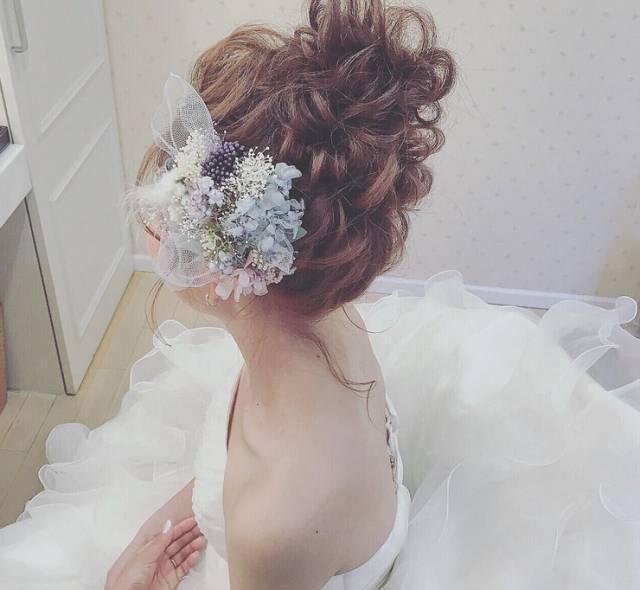 2017最美的新娘发型,素而不艳,香而不腻!图片