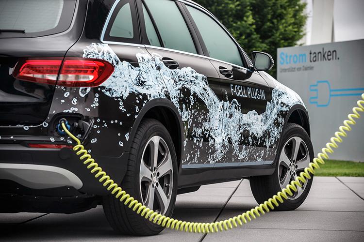奔驰GLC将推燃料电池版 不仅可以加氢还能充电