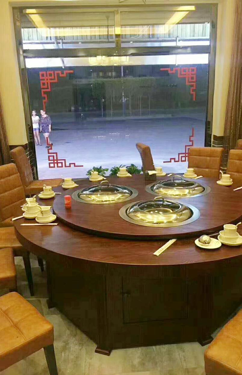 铁锅炖餐桌,铁锅炖灶台转桌,餐厅营销别再迷信免费