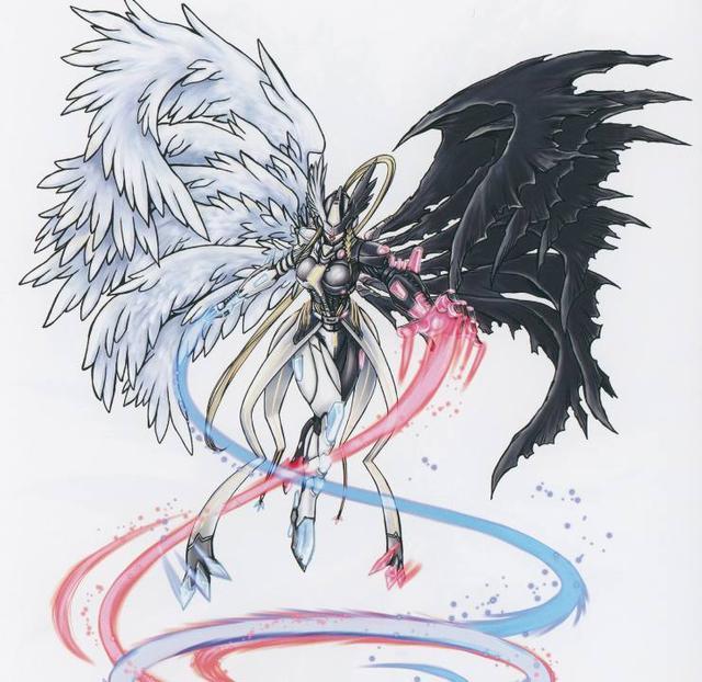 数码宝贝:天女兽最初的设定竟是魔化宝贝,小仙女其实图片