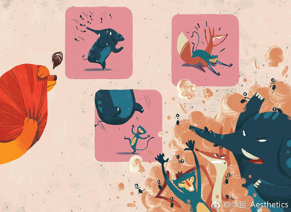 shequangshang_phung nguyen quang 充满童心的插画世界