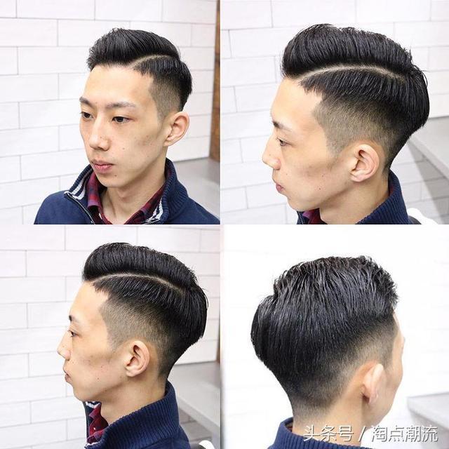 2018最新男生发型,渐层背头油头是首选