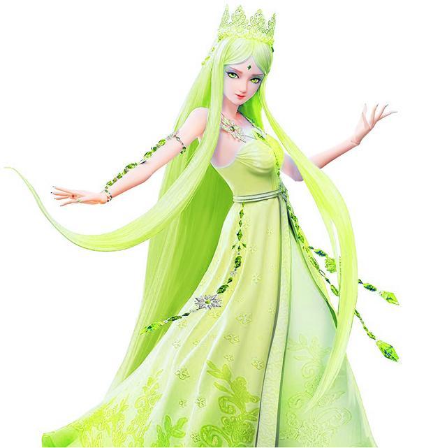 叶罗丽:七种色彩的冰公主,绿色可爱,红色最霸气,你喜欢哪款