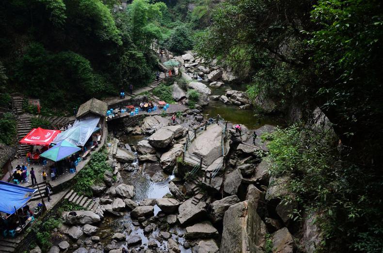 游玩梦中的香格里拉 中国第一险峡金刀峡