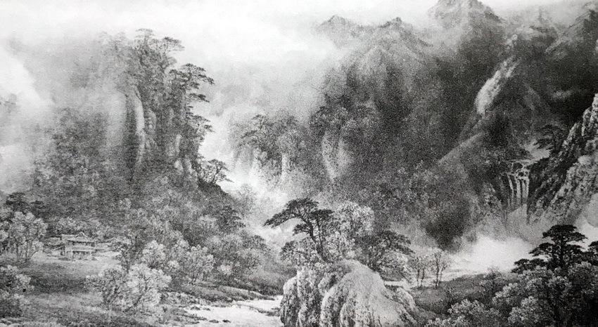画家俞祖德艺术创作:焦点与散点透视结合,传统与现代审美融合