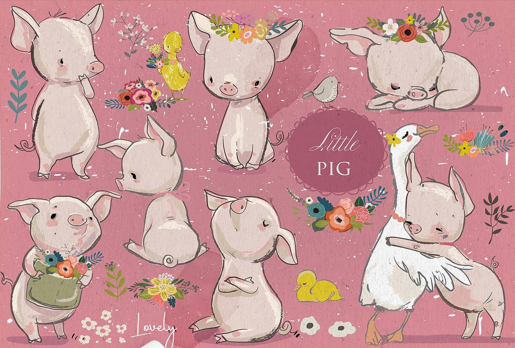 可爱的小动物怎么画?来看看插画师eve farb这些素材吧