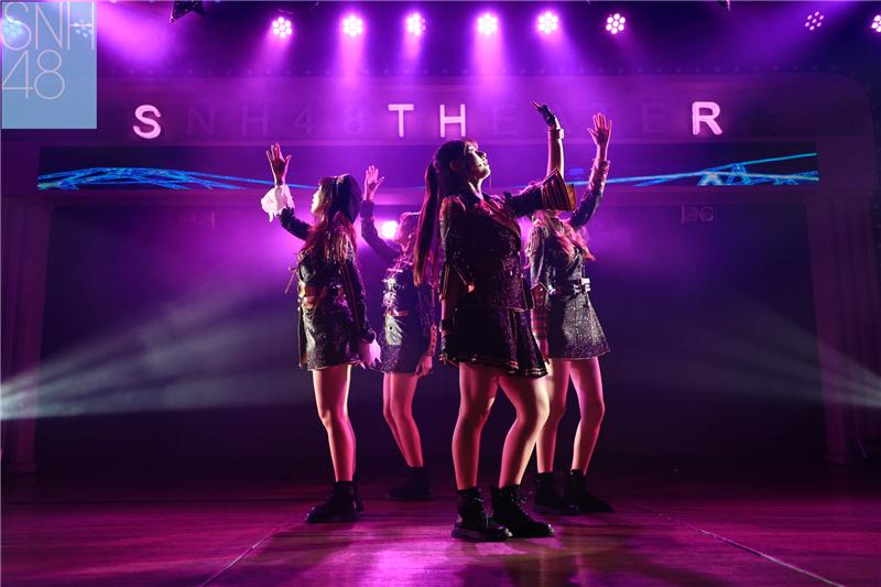 SNH48 TEAM HII新公演《头号新闻》首秀 打造奇幻怪盗传说