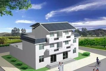 家乡小洋楼屋顶进行装修设计如何写平面设计的毕业论文图片