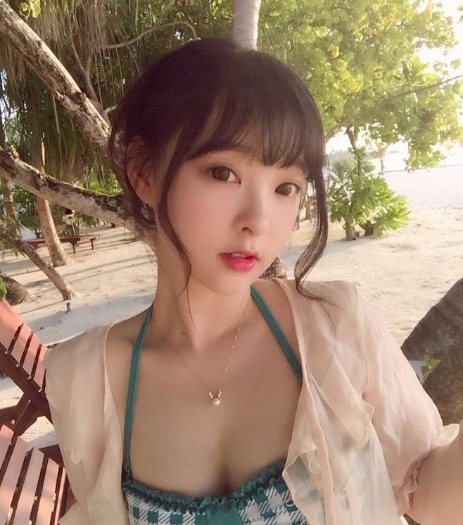沙滩上的小可爱,遇见了就撩吧万一呢?