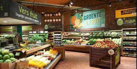 水果超市装修效果图