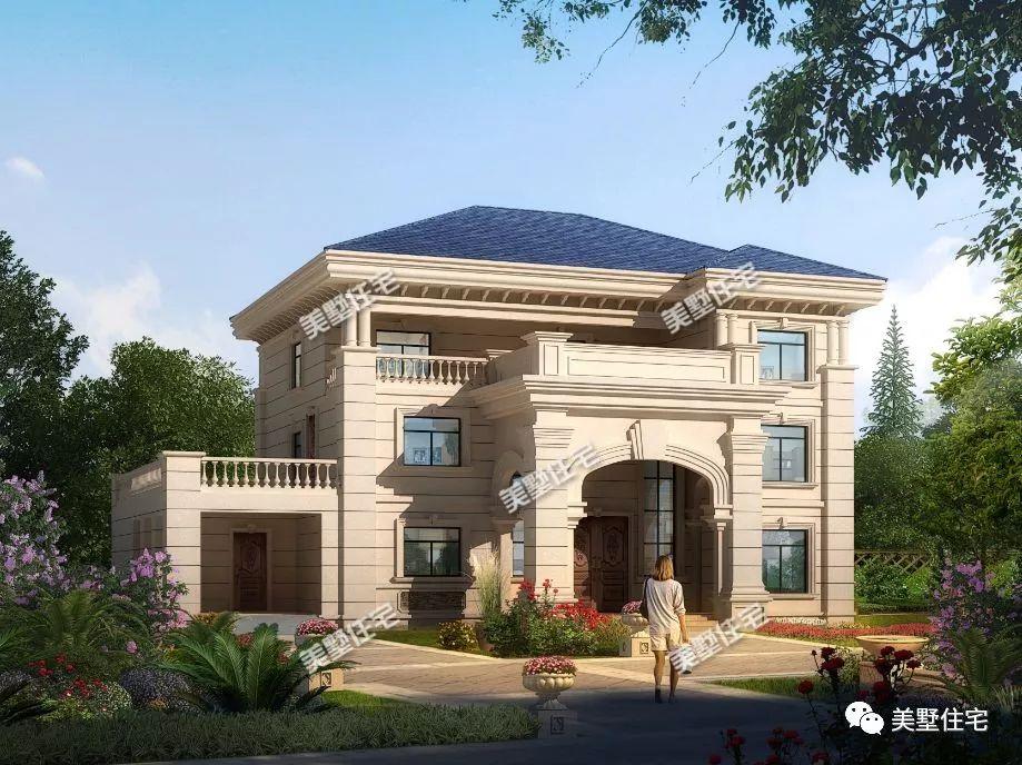 72平方米别墅设计图