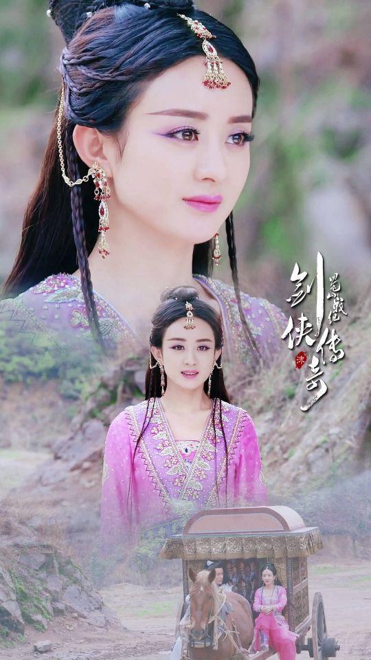 古装剧最美的10位公主,赵丽颖李沁上榜,看到关晓彤画风却变了!