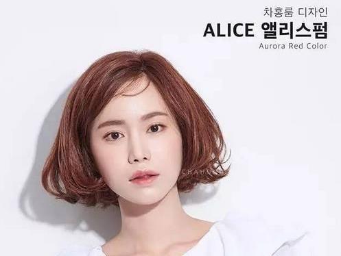 韩国妹子的发型是我们的最佳参考对象,2017最新流行短发造型汇总,下半图片