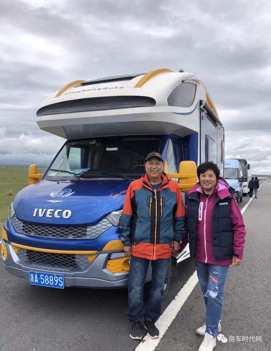 2018进口依维柯房车品牌探索之旅于青海湖完美落幕