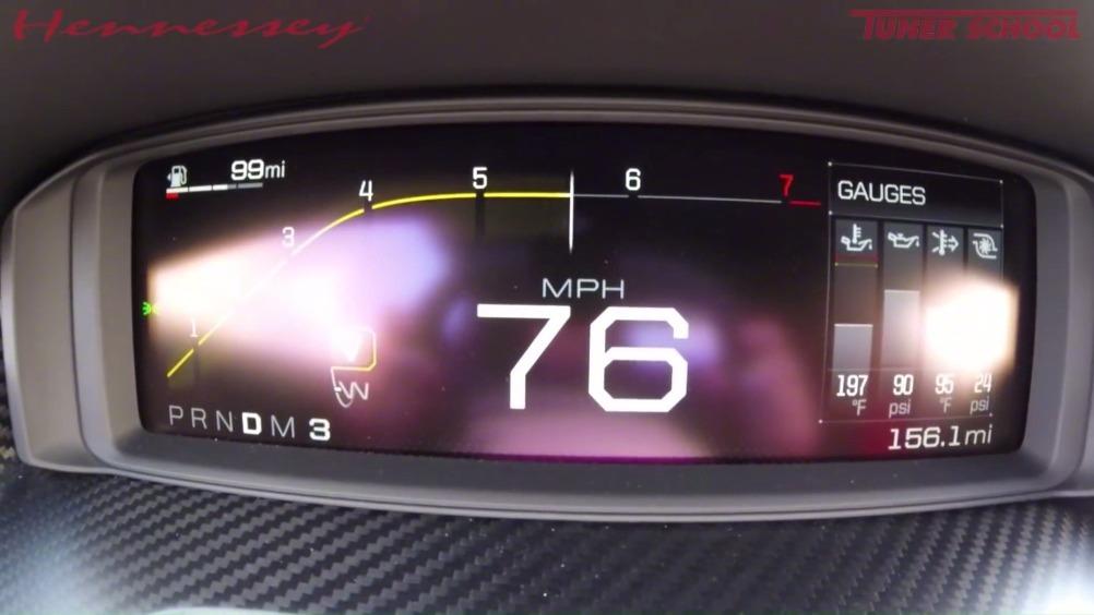 轩尼斯将一台福特GT  HERITAGE改装以后用30秒就把极速提升到...