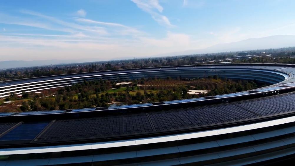 乔布斯遗作,壮丽的苹果飞船总部大楼Apple Park。
