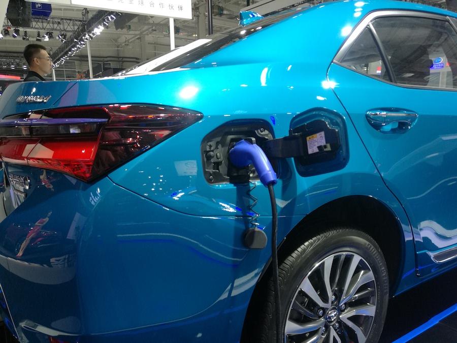 卡罗拉双擎E+纯电续航50km 或广州车展开启预售