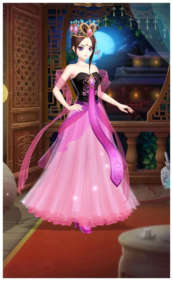 叶罗丽:罗丽六个新发型,冰公主光莹的还是这么美,孔雀图片