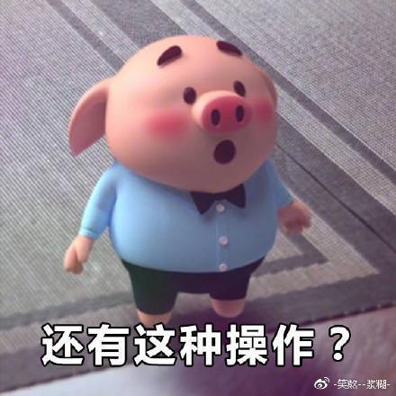 最近超级火的猪小屁动态,好萌!表情表情包屁话图片