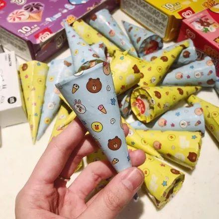 迷你可爱多甜筒 20g 小小个,可爱到不行,只有一根手指长,对于成年人