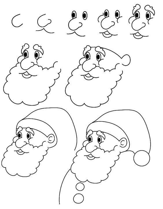 儿童简笔画 花朵圣诞树小房子等,九个日常简易绘画教程