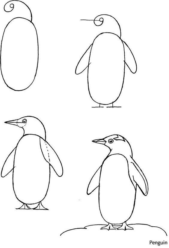 儿童简笔画:花朵圣诞树小房子等,九个日常简易绘画教程!图片