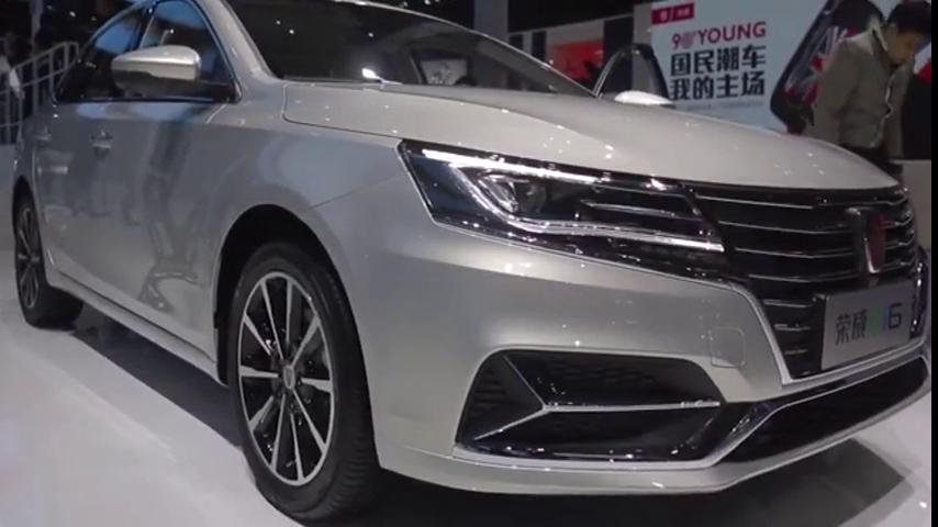 视频:2017上海车展荣威ei6新能源汽车抢先看