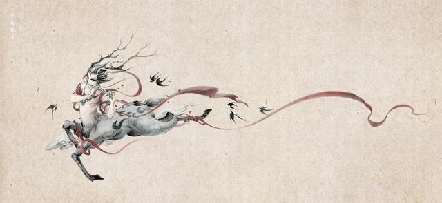 百妖异闻,缥缈绝美,超人气手绘古风插画精选