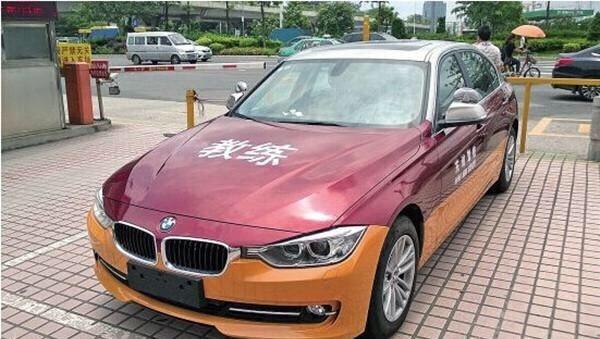 奔驰宝马做教练车, 这样考完驾照后还怎么开自己的车? ????