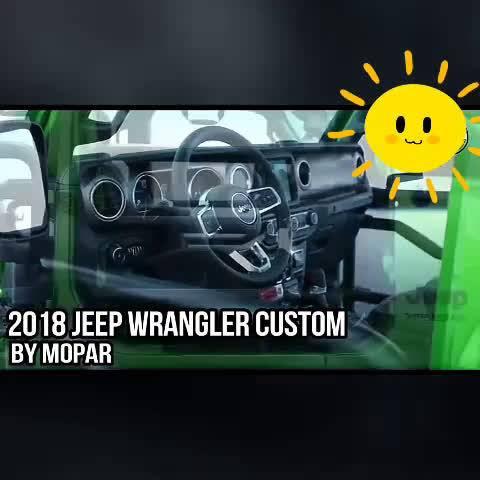 2018吉普牧马人Mopar版, 厂改车就是不一样, 期待2.0T进入国...