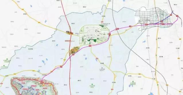 沿江高铁霍山段规划图
