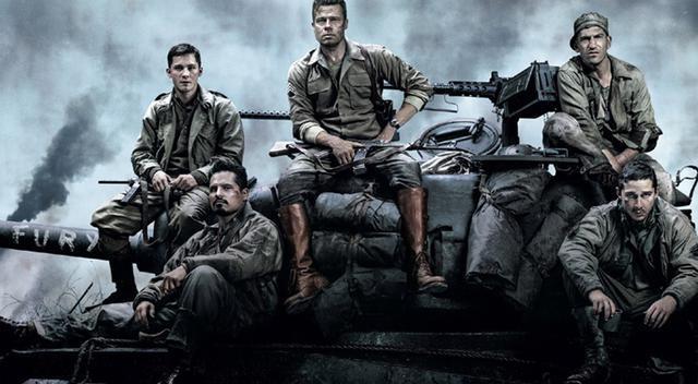 狂怒 该片讲的是二战末期,德国纳粹已成强弩之末,第二次世界大战即将
