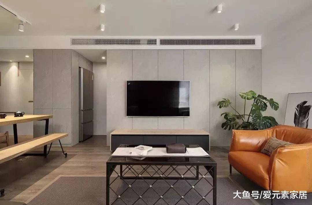 硬包电视墙, 简洁又高档, 真好!