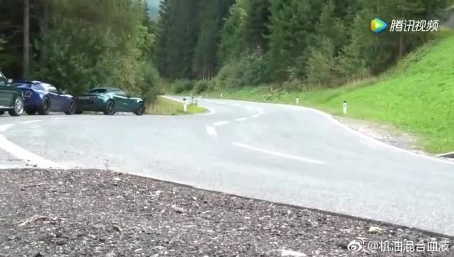 实拍V6涡轮高尔夫山路狂秀声浪,简直远超法拉利吊打兰博基尼