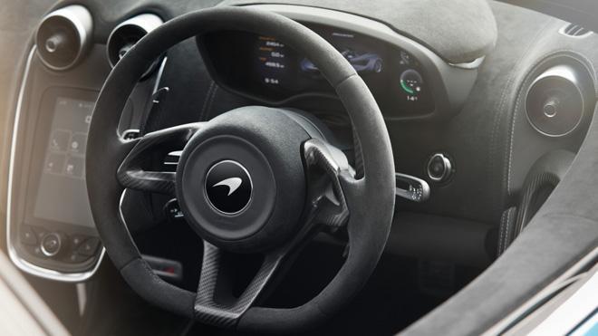 迈凯伦570S Spider增加赛道包选装配置
