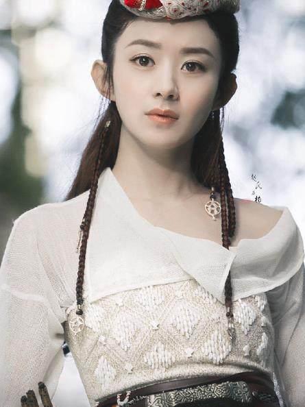 赵丽颖古装剧10次白衣装扮,楚乔帅气,玉无心冷傲,最美