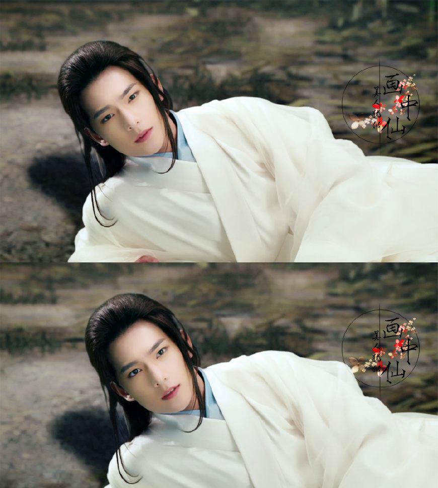 白衣古装美男,韩东君上榜,马天宇第二,第一美得不似凡人