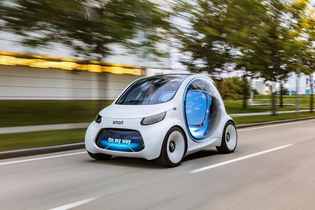 全世界关注EQC时梅赛德斯奔驰未来共有9款电动车于2022年前问世
